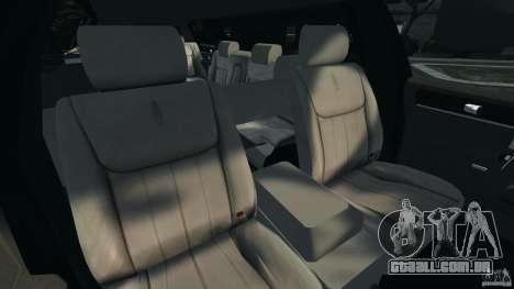 Lincoln Town Car Limousine 2006 para GTA 4 vista de volta