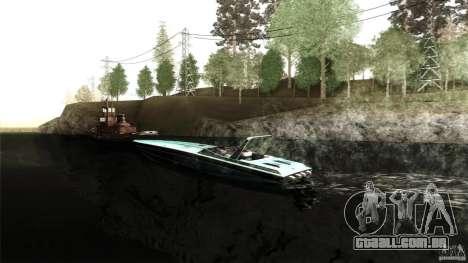 Wellcraft 38 Scarab KV para GTA San Andreas esquerda vista