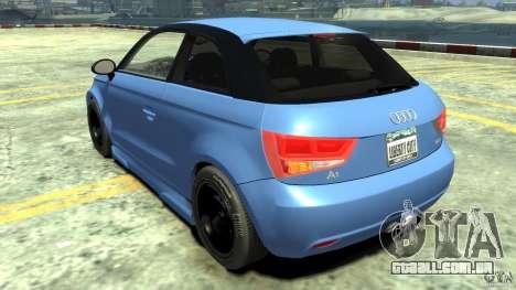 Audi A1 para GTA 4 traseira esquerda vista