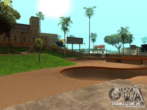 New SkatePark v2 para GTA San Andreas quinto tela