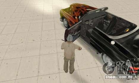Flat Out Style para GTA San Andreas vista traseira