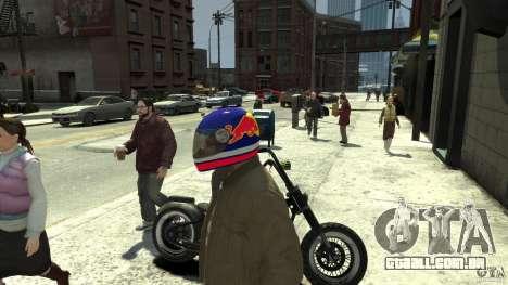 Energy Drink Helmets para GTA 4 sétima tela