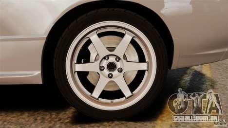 Nissan Skyline GT-R (BNR32) para GTA 4 vista superior