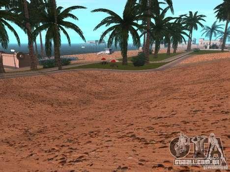 Praia de HQ v 1.0 para GTA San Andreas