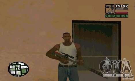 O Nandokooper (IOS-98) para GTA San Andreas segunda tela