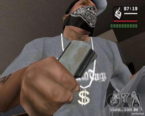 Detector de s. l. a. t. k. e. R # 3 para GTA San Andreas terceira tela
