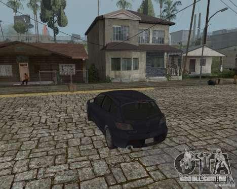 Mazda Speed 3 para GTA San Andreas esquerda vista
