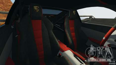 Porsche 911 GT2 RS 2012 v1.0 para GTA 4 vista interior