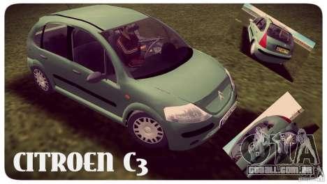 Citroen C3 para GTA Vice City