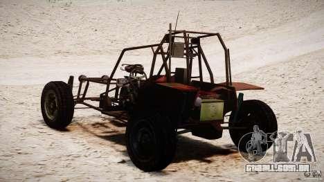 Half Life 2 buggy para GTA 4 vista interior