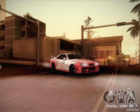 Nissan Skyline Z-Tune v2.0 para GTA San Andreas interior