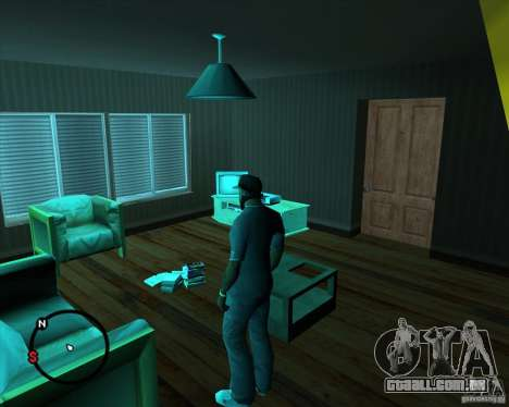 Ir para qualquer casa para GTA San Andreas segunda tela