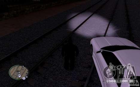 Rails russos para GTA San Andreas sexta tela