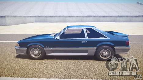 Ford Mustang GT 1993 Rims 1 para GTA 4 esquerda vista