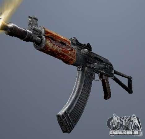 Um conjunto de armas de um stalker para GTA San Andreas décimo tela