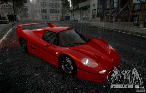 Ferrari F50 1995 para GTA 4 vista de volta