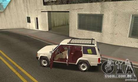 Jeep Grand Cherokee 1986 para GTA San Andreas