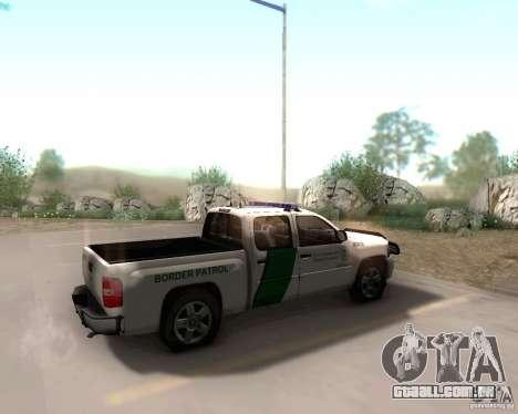 Chevrolet Silverado Police para GTA San Andreas
