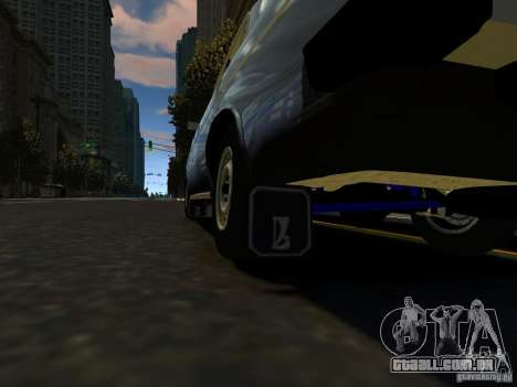 VAZ 2106 para GTA 4 vista interior