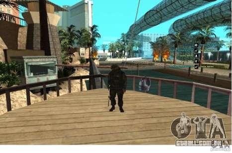Forças especiais Berkrut para GTA San Andreas terceira tela