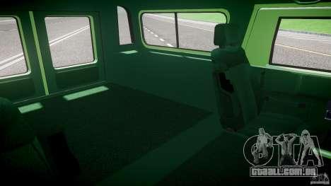 Hummer H1 para GTA 4 vista interior