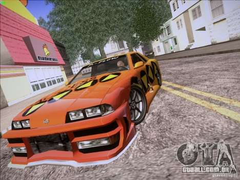 Elegy Cabrio Edition para GTA San Andreas vista interior