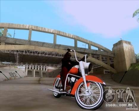 Harley-Davidson FL Duo Glide 1961 (Lowrider) para GTA San Andreas