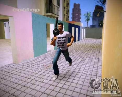 PPSH-41 para GTA Vice City terceira tela