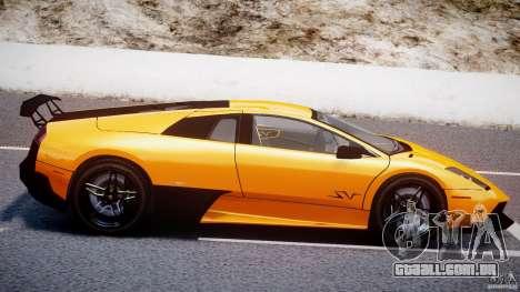 Lamborghini Murcielago LP670-4 SuperVeloce para GTA 4 vista inferior