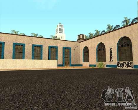 Nova estação Unity para GTA San Andreas segunda tela
