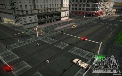 Estrada de HD (4 GTA SA) para GTA San Andreas segunda tela