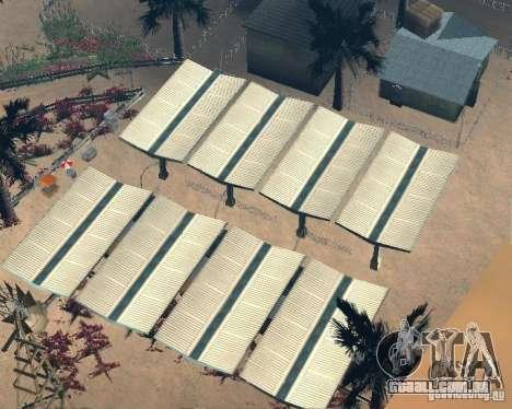 Modern Bone Country para GTA San Andreas quinto tela