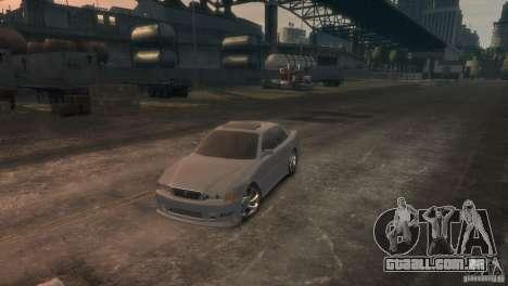 Toyota Chaser 2.5 Tourer V para GTA 4