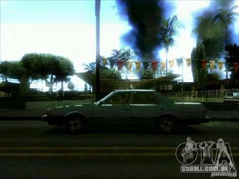 Um táxi do dri3r para GTA San Andreas esquerda vista