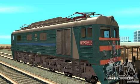 Locomotiva VL23-419 para GTA San Andreas