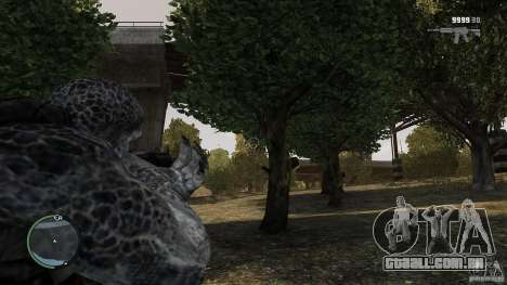 Gears Of War Grunt v1.0 para GTA 4 terceira tela