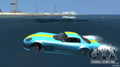 Banshee Boat para GTA 4 esquerda vista