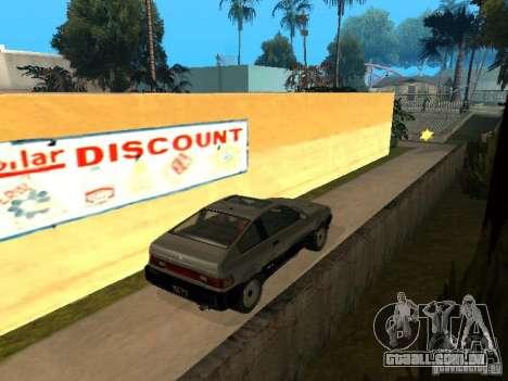 Blista From GTA IV para GTA San Andreas traseira esquerda vista