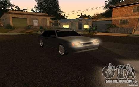 VAZ 2115 Coupe para GTA San Andreas esquerda vista
