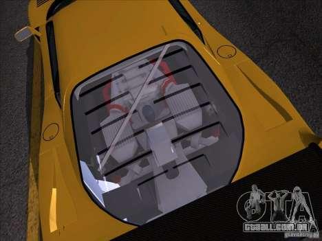 Ferrari F40 GTE LM para GTA San Andreas traseira esquerda vista