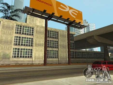 The Los Angeles Police Department para GTA San Andreas segunda tela