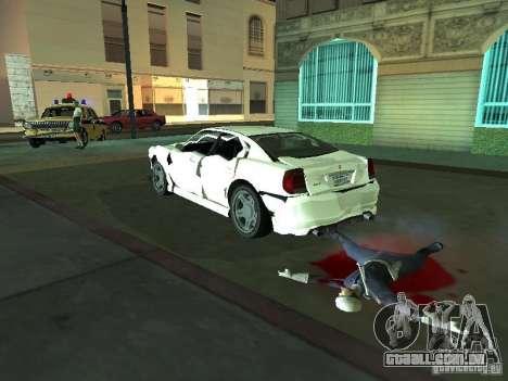 GTA 4 TBoGT de Buffalo para GTA San Andreas vista interior