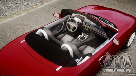 Mazda MX-5 Miata para GTA 4 motor