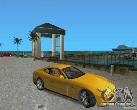 Ferrari 612 Scaglietti para GTA Vice City vista direita