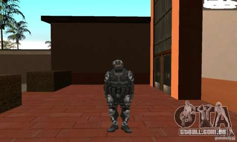 Crysis NanoSuit 2 para GTA San Andreas segunda tela