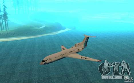 Yak-42 d Scat (Cazaquistão) para GTA San Andreas