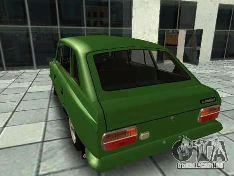 IZH Combi 21251 para GTA San Andreas traseira esquerda vista