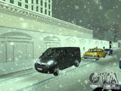 Vauxhall Vivaro v0.1 para GTA San Andreas