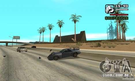 IV to SA features para GTA San Andreas