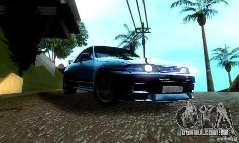 Nissan Skyline GT-R R-33 v2.0 para GTA San Andreas vista direita